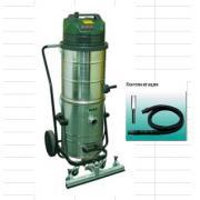 MEC WD 640M Пылесос для для уборки строительной пыли,мет. бак, 3 турб, 3300 Вт, 112 л.гараж.к.