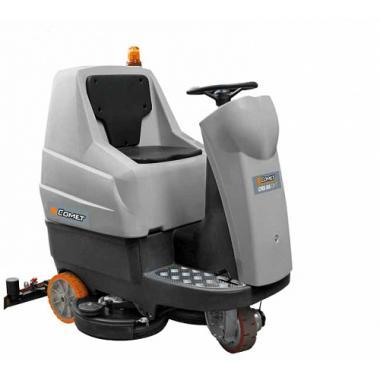 Поломоечная аккумуляторная машина с сидением для водителя Comet CRS 75BYT; без АКБ